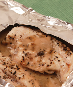 Easy Chicken in Foil